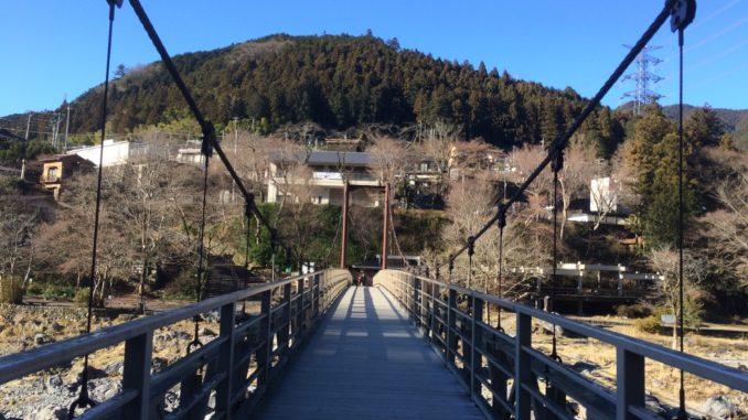 御岳渓谷・吊り橋