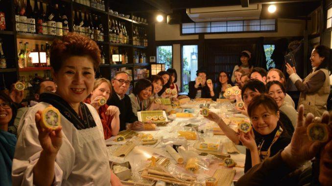 訪日インバウンドイベント・郷土料理体験(千葉千寿恵)
