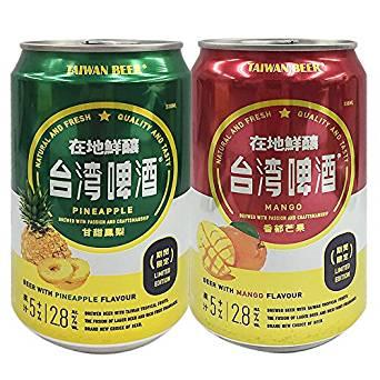 台湾ビール・フルーツ(パイナップル・マンゴー)
