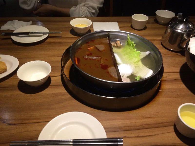筆者撮影:Chan Chi Hot Pots Lab (詹記麻辣火鍋)・中山駅付近
