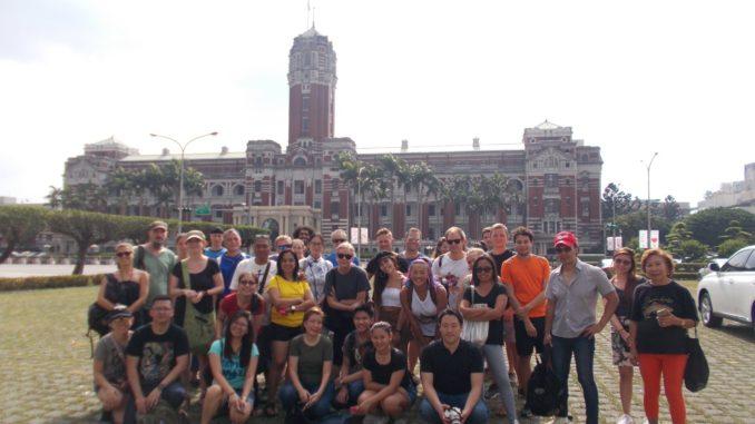 台湾・台北フリーツアー・中華民国総統府
