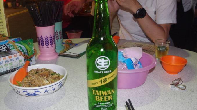 台湾生ビール ONLY 18 DAYS