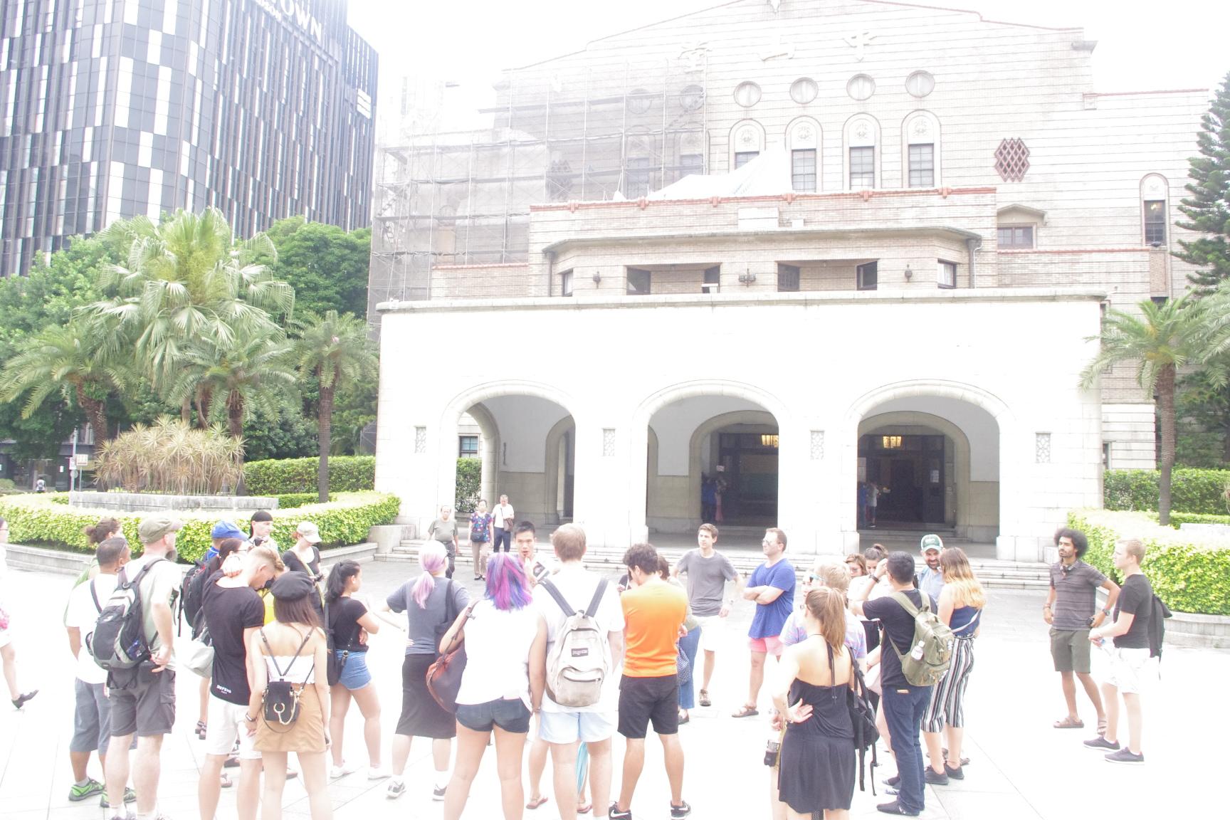 台湾・台北フリーツアー・中山堂(旧台北公会堂)