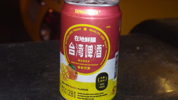 台湾フルーツビール・マンゴー