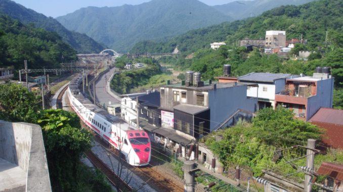宜蘭線の鉄道撮影の好スポット