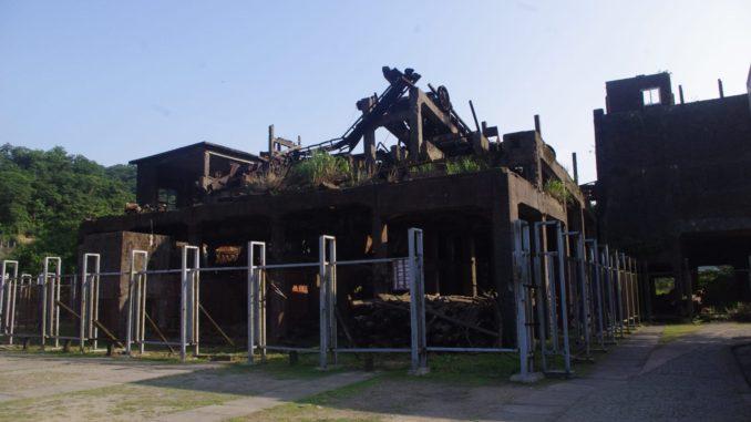 猴硐駅付近の廃墟