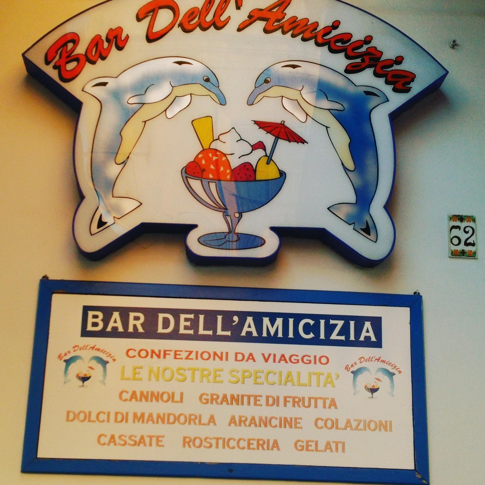 ランペドゥーザ島のおすすめグルメ:Bar Dell'AMICIZIA(ジェラート)