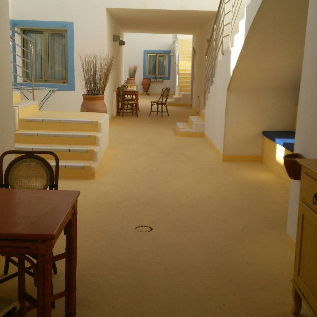 ランペドゥーザ島のホテル宿泊:「ホテルパラディーニ ディ フランシア」