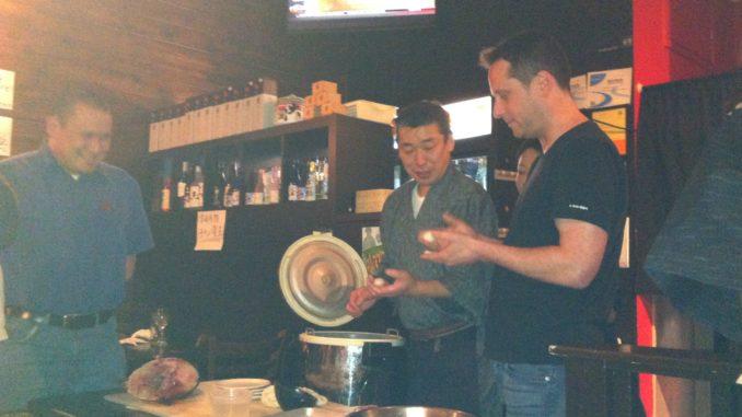 インバウンド日本文化PRイベント・寿司教室 at Izakaya Roku 握り寿司体験