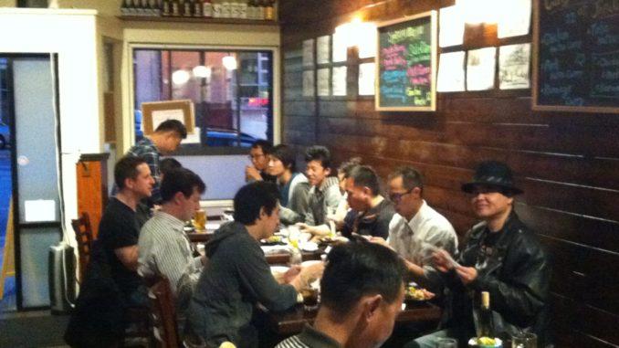 インバウンド日本文化PRイベント・寿司教室 at Izakaya Roku 握り寿司と居酒屋料理の食事