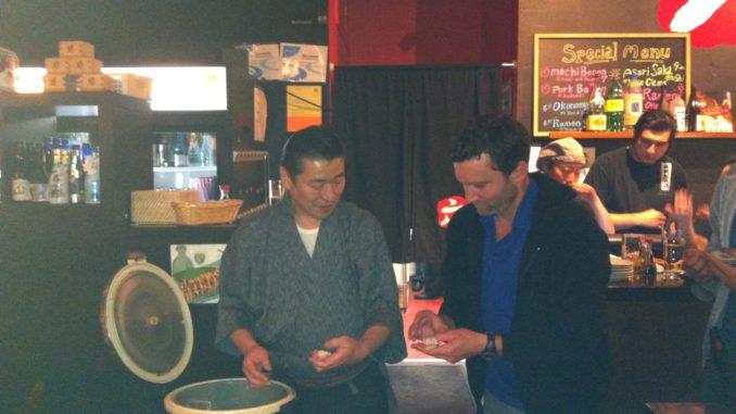 インバウンド日本文化PRイベント・寿司教室 at Izakaya Roku