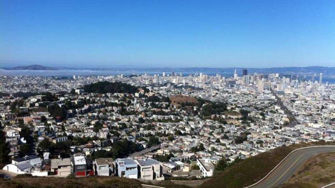 アメリカ・サンフランシスコの旅行・観光地 ツインピークス
