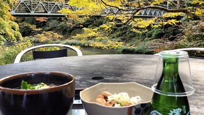 青梅のお土産:澤乃井の日本酒