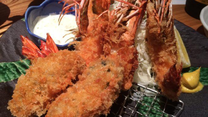 新宿のおすすめグルメ:新橋魚金 歌舞伎町 弐 シーフードフライ