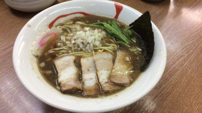 新宿のおすすめグルメ:航海屋 新宿店 濃厚煮干しラーメン