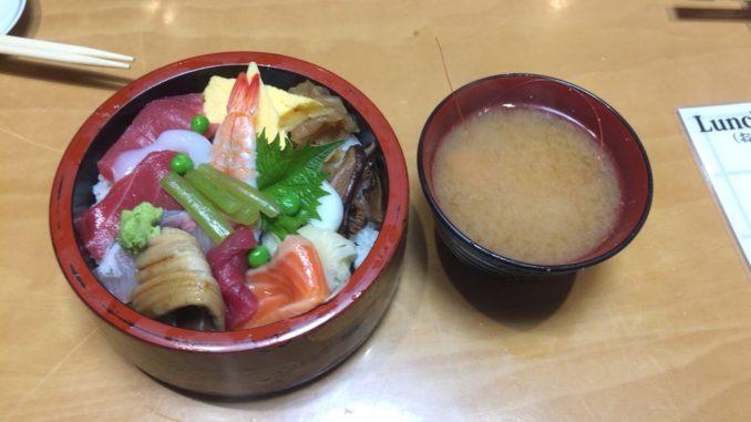 新宿のおすすめグルメ:松喜鮨 3丁目店(新宿) ちらし寿司