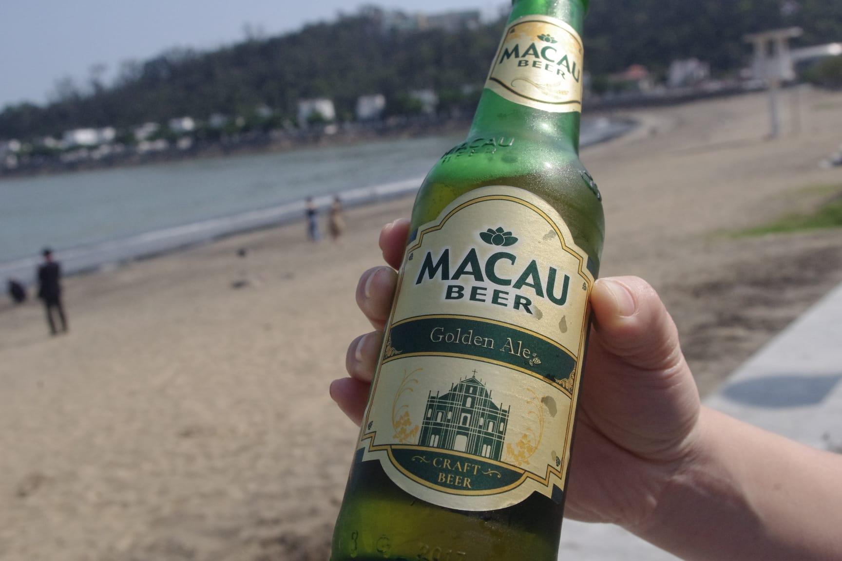 マカオビール(ゴールデンエール)