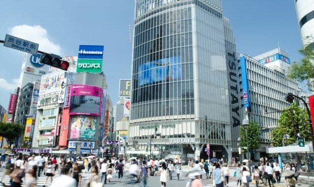 渋谷ショッピング・買い物スポット: 渋谷駅前と写真