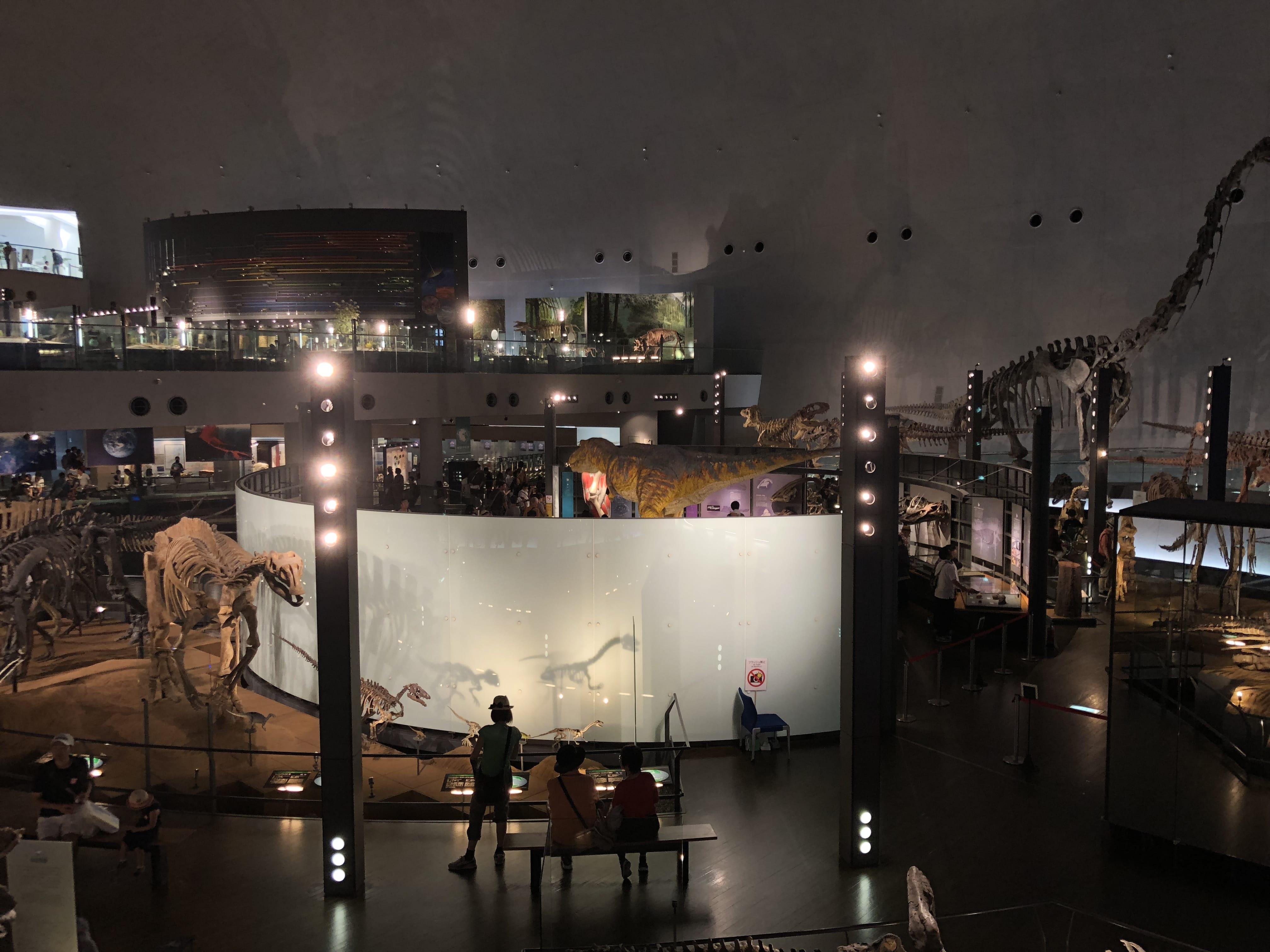 福井県立恐竜博物館(2018年・夏/お盆)
