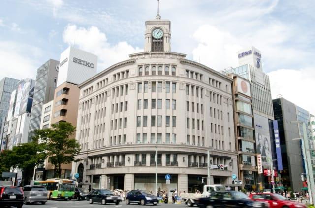 東京駅周辺のショッピング:銀座エリア