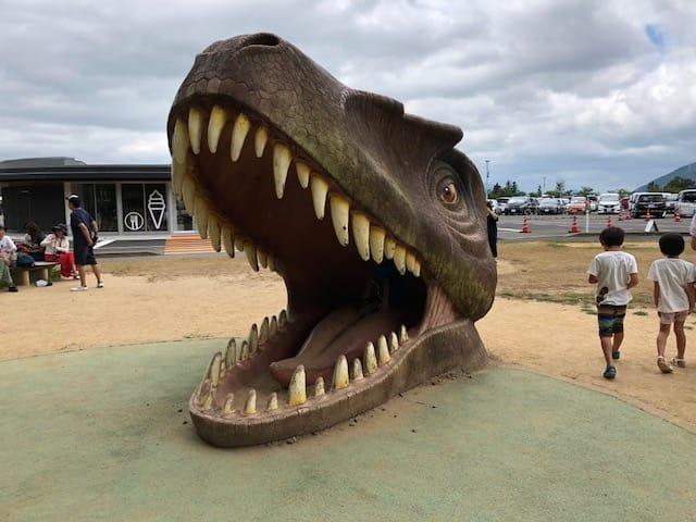 恐竜博物館アスレチック・チャマゴン広場