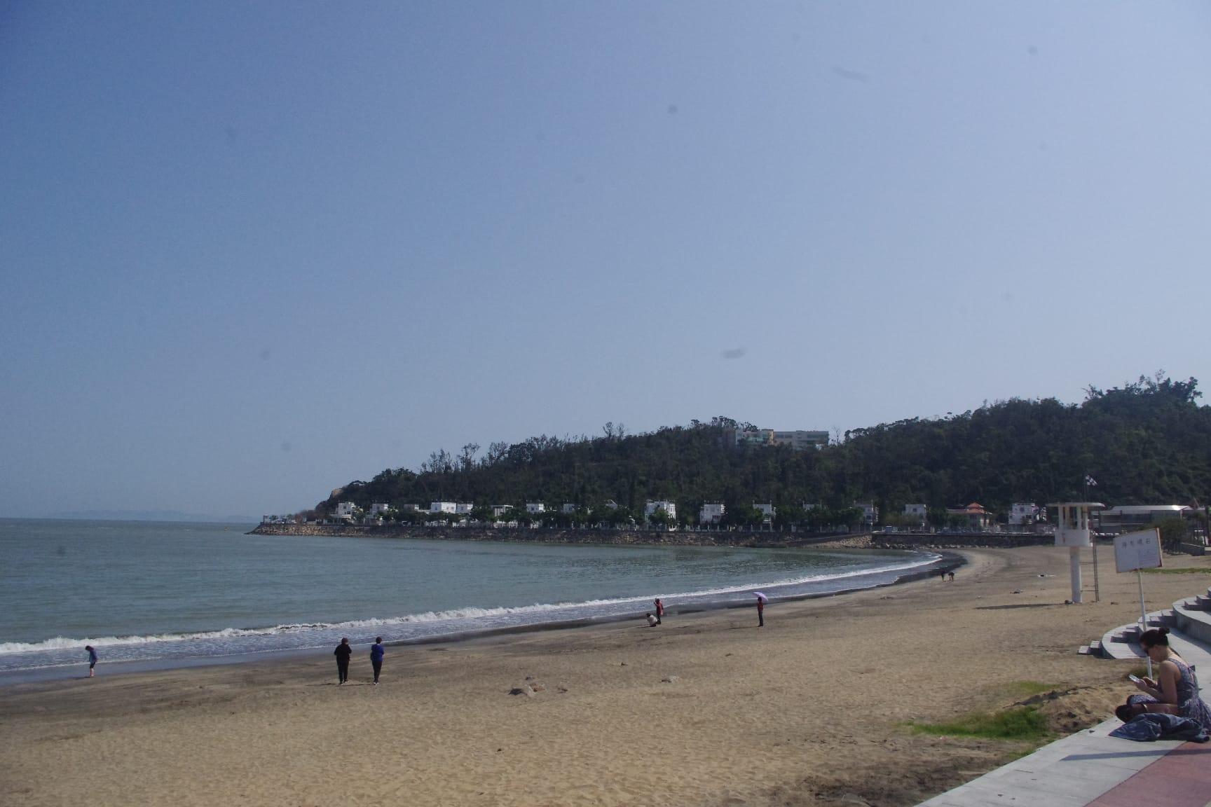 黒沙海岸(ハクサビーチ):マカオの自然リゾートの観光スポット