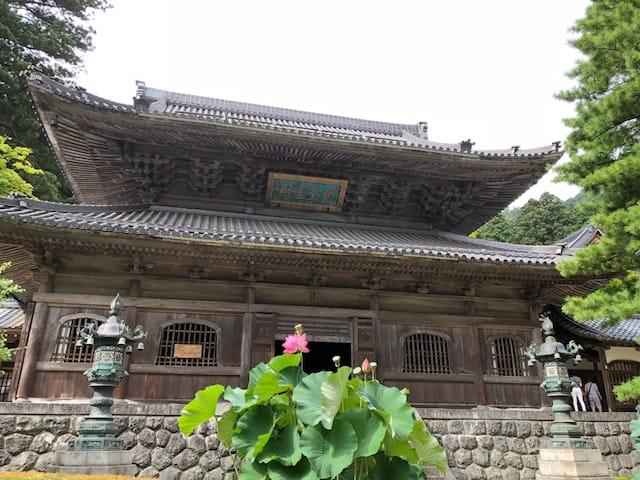 永平寺(恐竜博物館周辺)