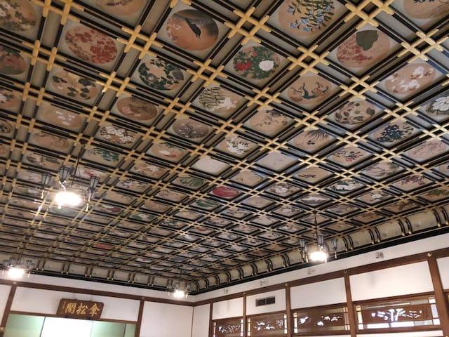 永平寺・傘松閣天井