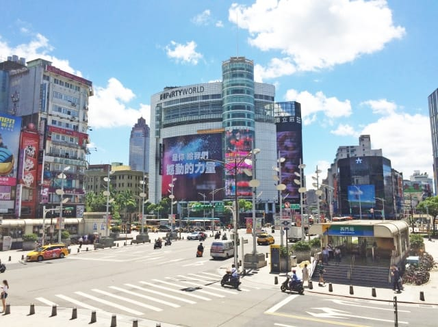 台湾・台北のショッピング・買い物スポット(西門町)