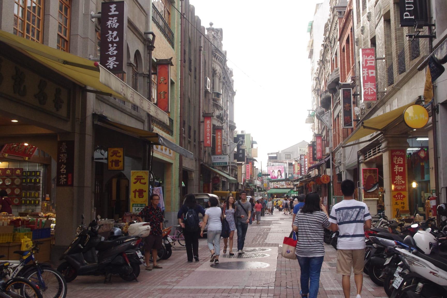 迪化街・問屋街(台湾グルメのお土産)