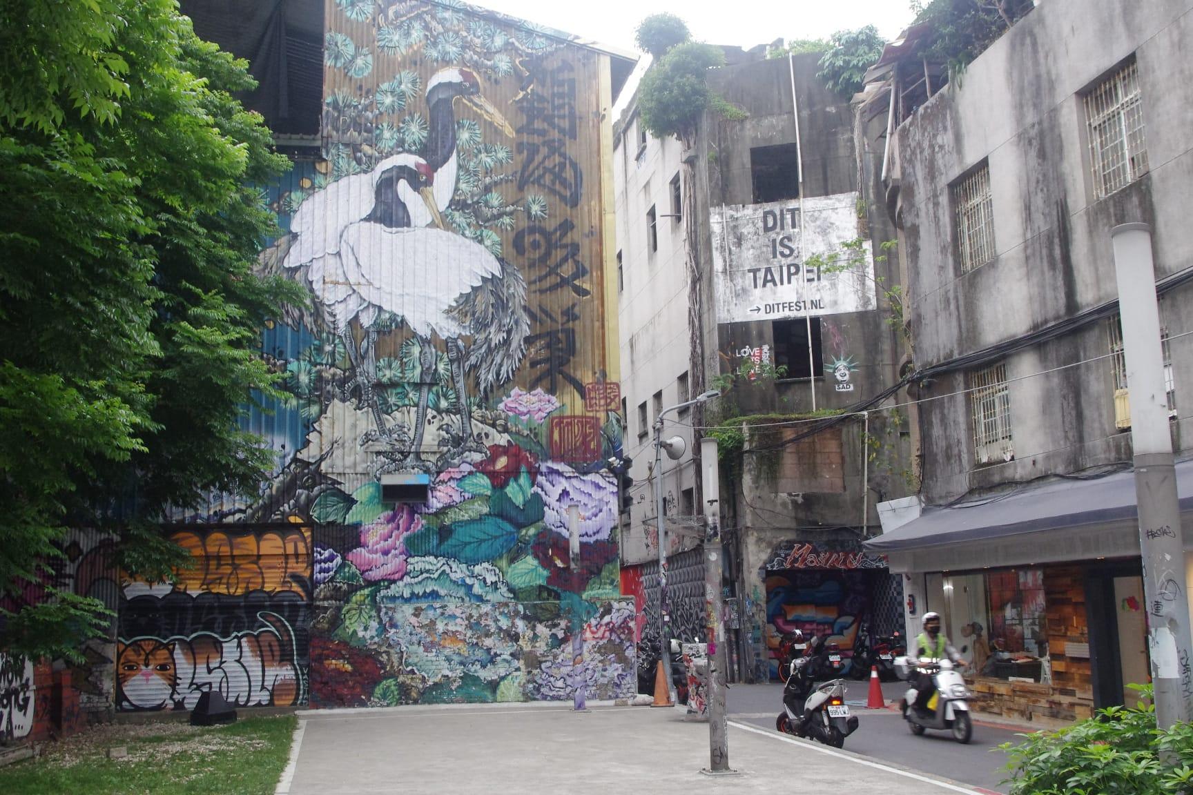 西門町・壁画アート