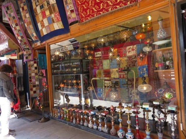 水タバコ(シーシャ)・イスタンブールのバザール