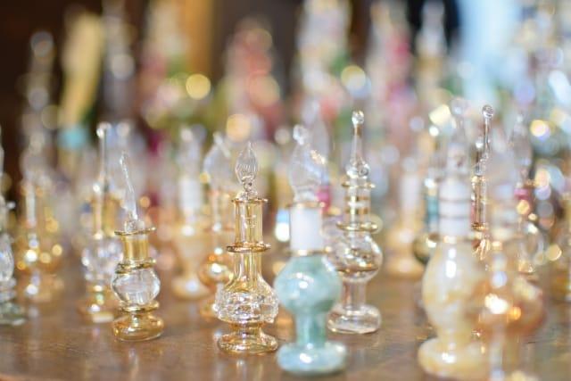 香水瓶(吹きガラス)