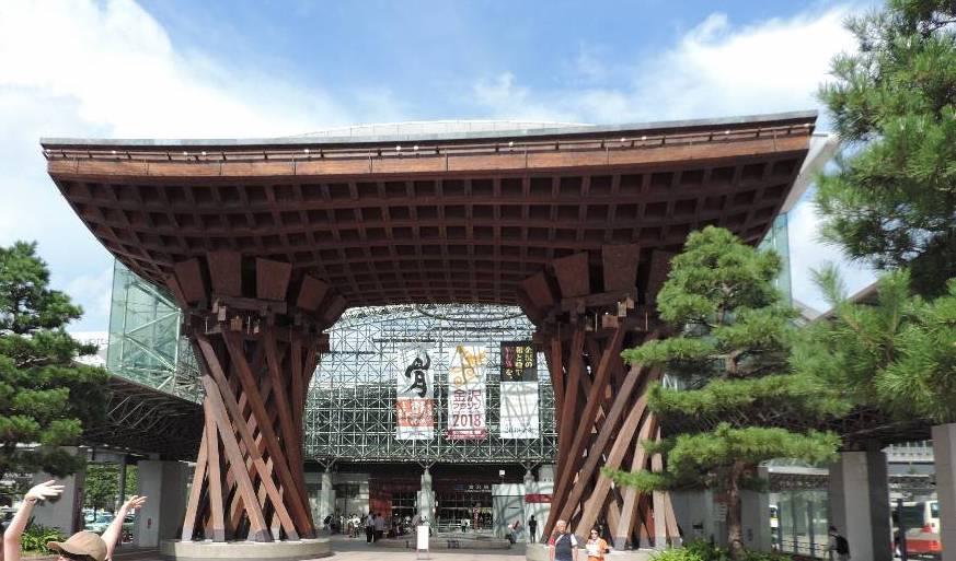 JR金沢駅 (鼓門・もてなしドーム)