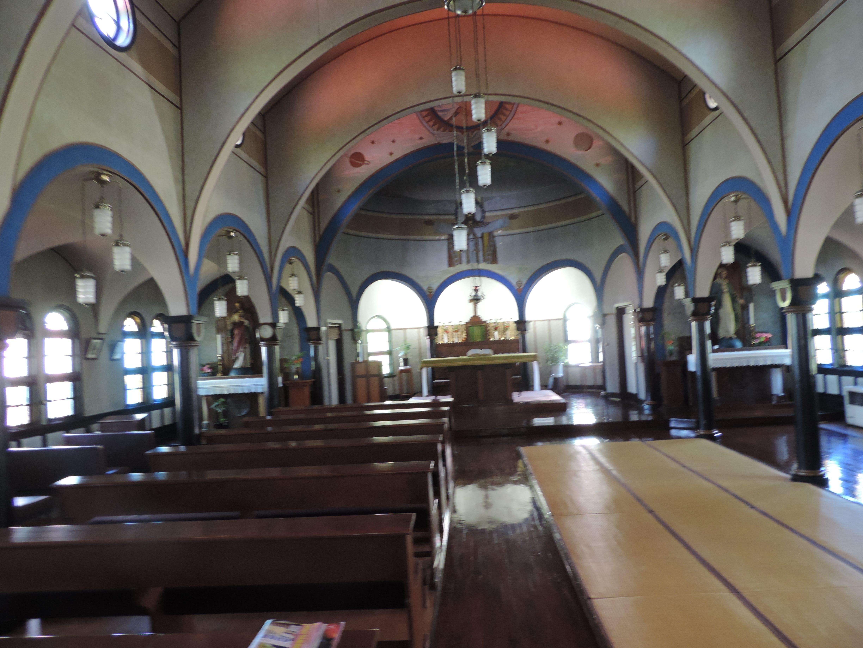 金沢聖霊修道院聖堂・聖堂内