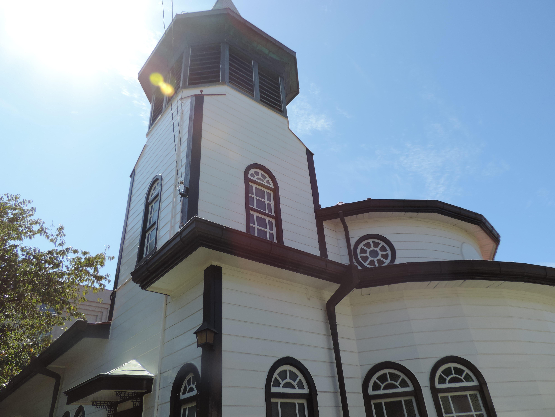 金沢聖霊修道院聖堂・チロル風鐘楼