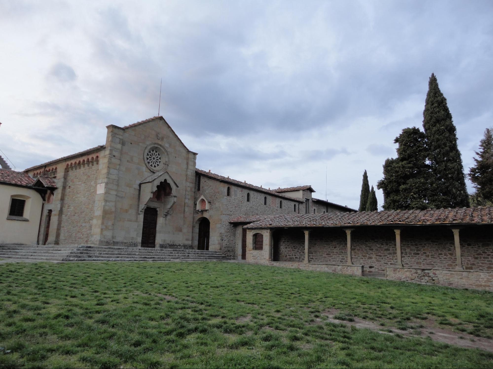 フィエーゾレ/サン・フランチェスコ教会(筆者撮影)
