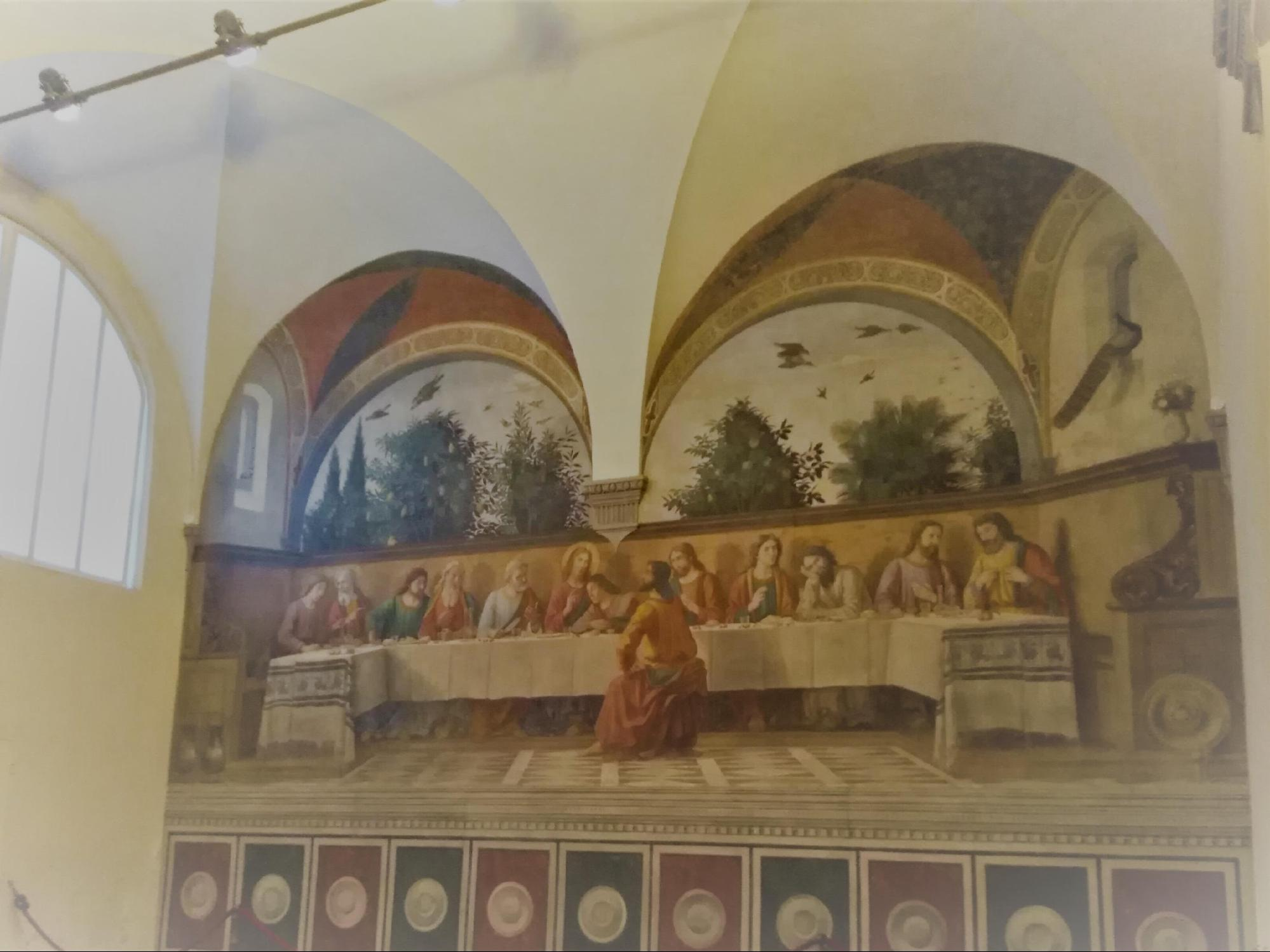 フィレンツェの芸術・教会:最後の晩餐