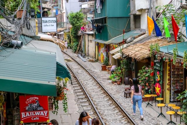 ベトナム・ハノイの街