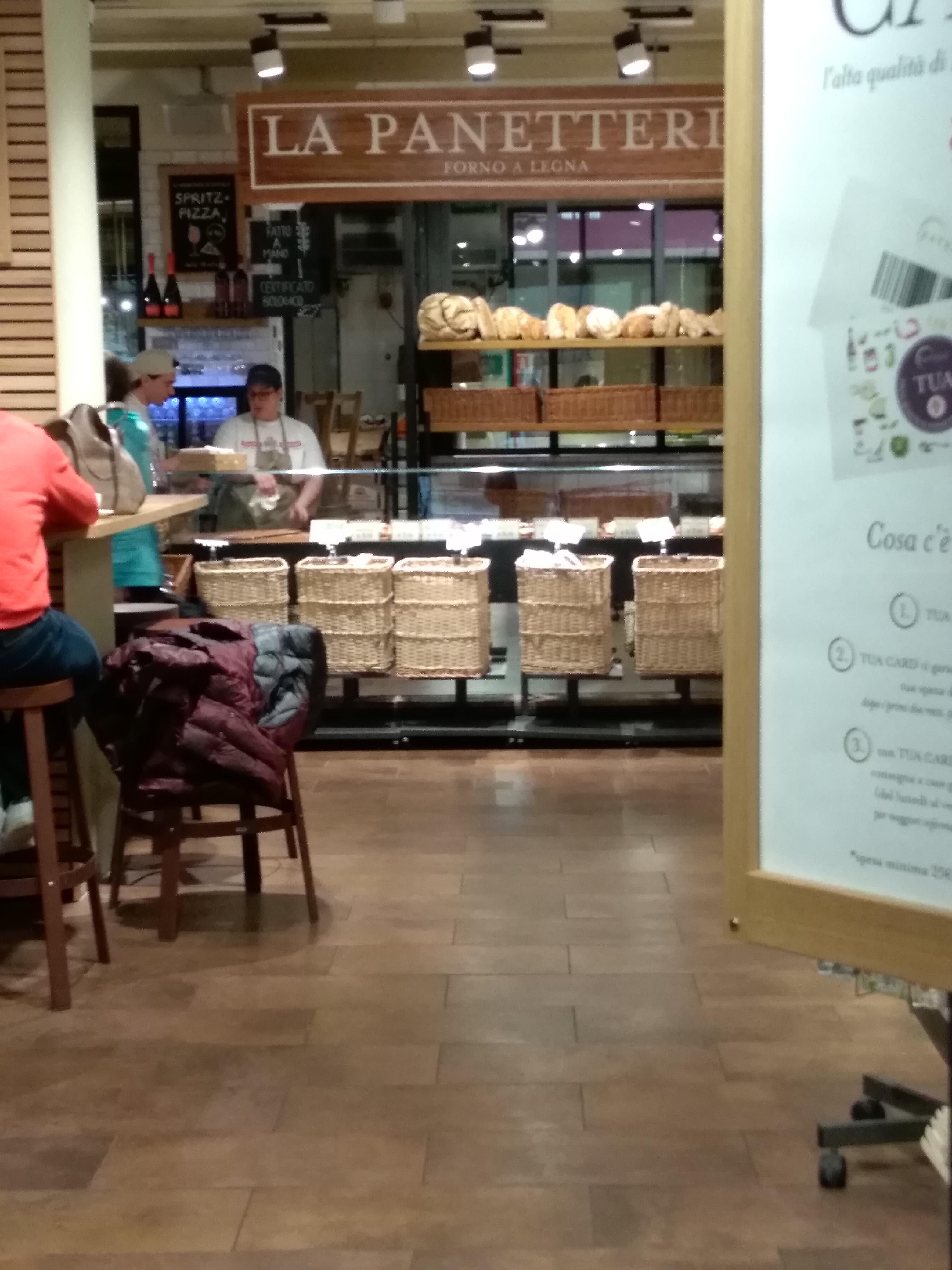 パン、ピザのコーナーでのお土産:EATALY(イータリー)