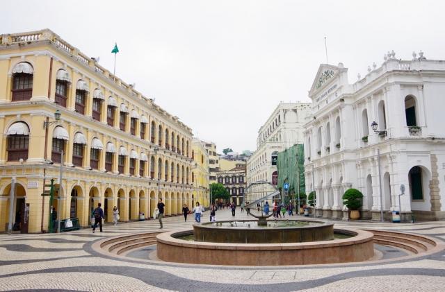 マカオの世界遺産・セナド広場