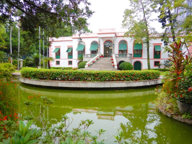 マカオの世界遺産・カーザ庭園
