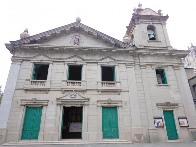 マカオの世界遺産・聖アントニオ教会