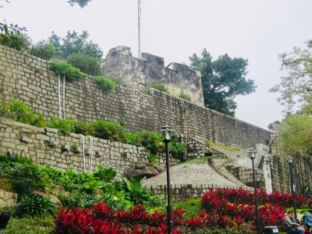 マカオの世界遺産・モンテの砦