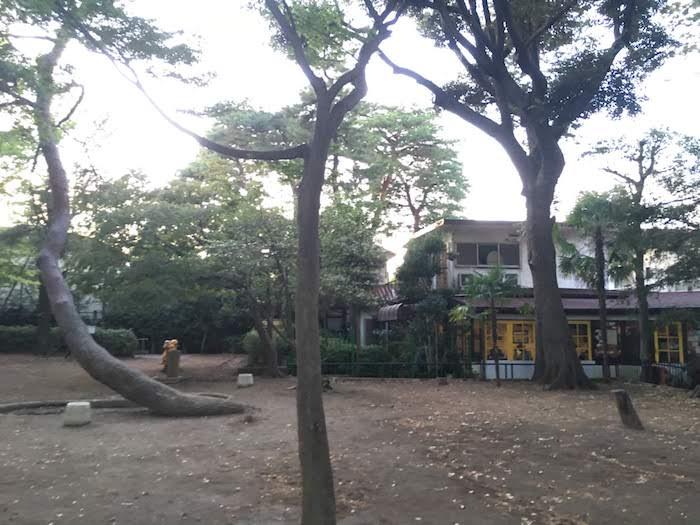 松籟公園: 西荻窪駅から徒歩10分ほどの近さ/子供の遊具や隣接のカフェもおすすめ