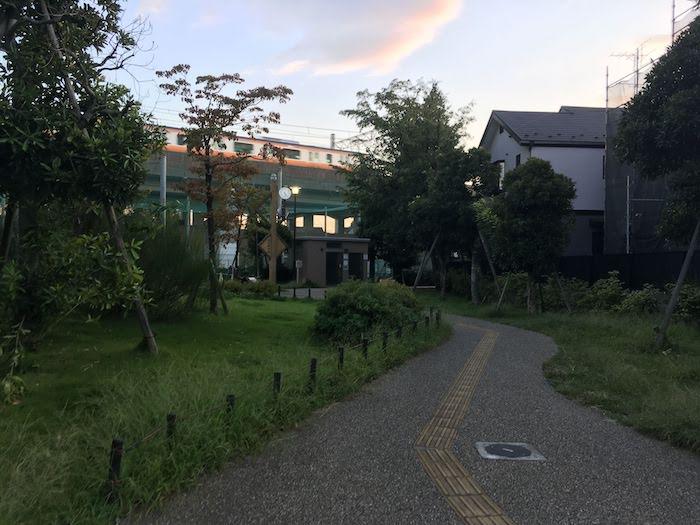 武蔵野市立本田東公園・周辺