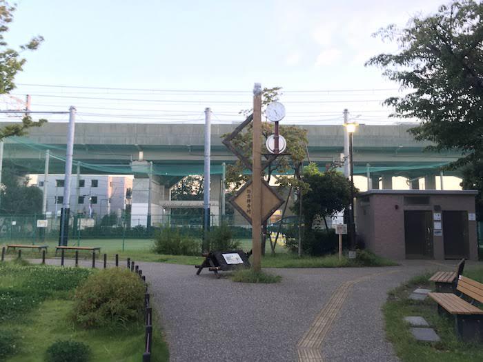 【西荻窪周辺の公園】武蔵野市立本田東公園