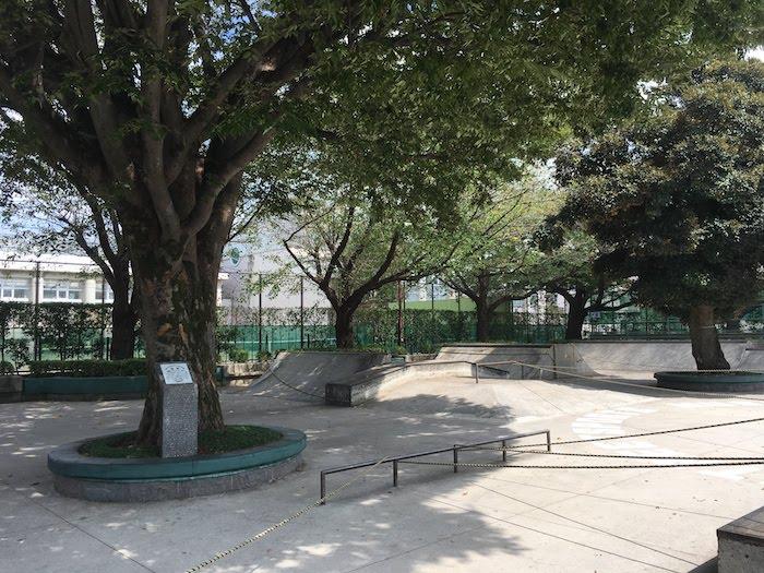 西荻窪から一番近いスケートボードパーク(公園):ストリートスポーツ広場