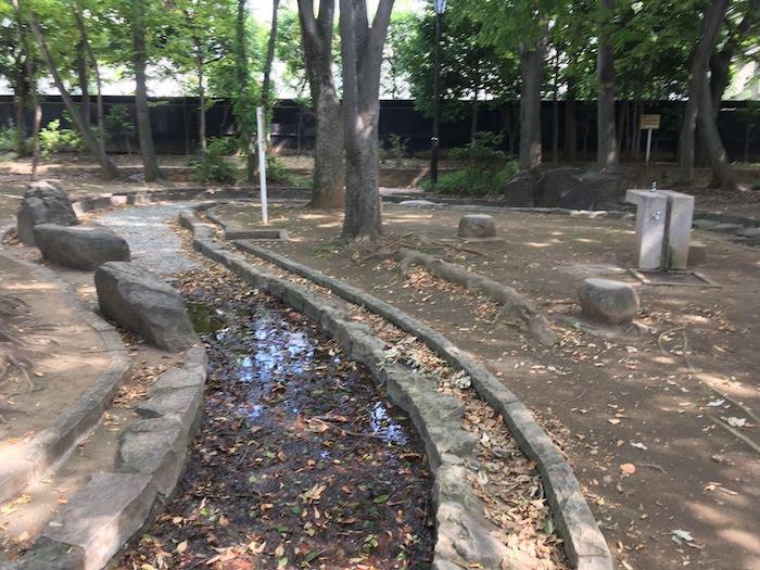 大宮前公園/水遊びができる水路