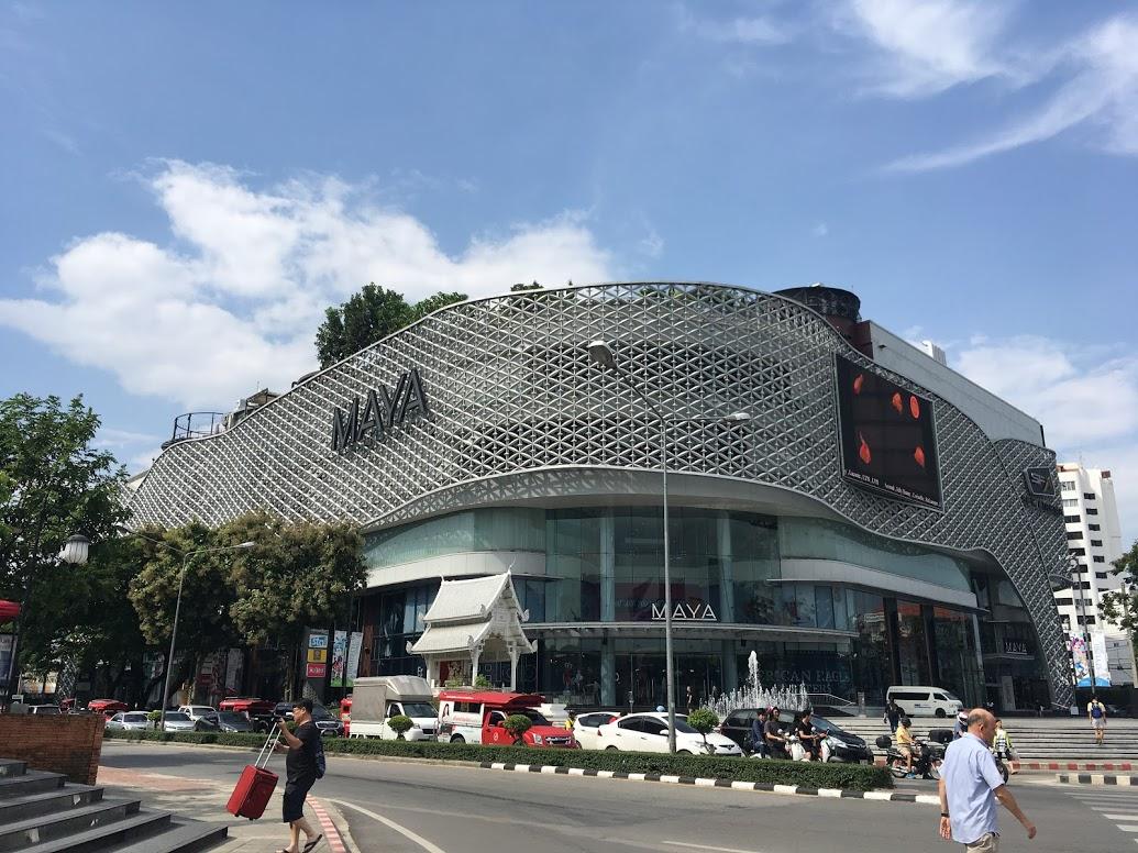 チェンマイのショッピングセンターMAYA